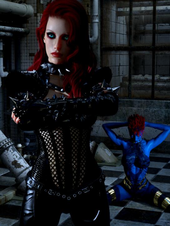 Raziel Kanos Art - Scarlett and Raven